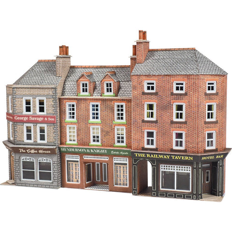 METCALFE LOW RELIEF PUB SHOPS N SCALE