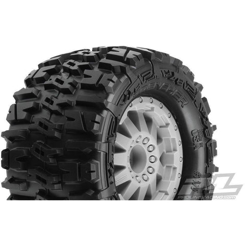 PROLINE TRENCHER 2.8 INCH MTD F-11 GRAY WHEELS REAR