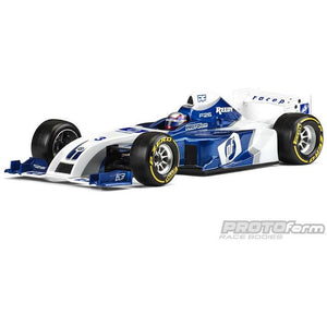 PROTOFORM F26 FORMULA 1 CLEAR BODY 1-10TH - PR1561-22