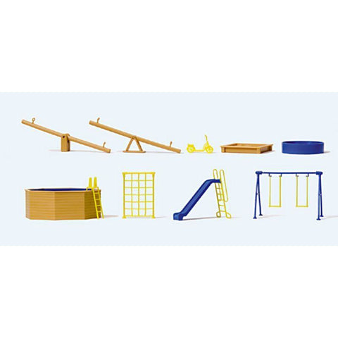 PREISER Playground Equipment Kit