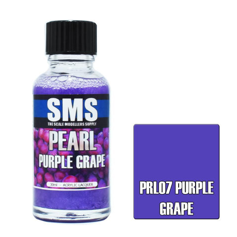 SMS Pearl PURPLE GRAPE 30ml (PRL07)
