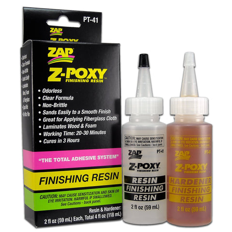 ZAP PT-41 4Oz. Z-Poxy Finishing Resin