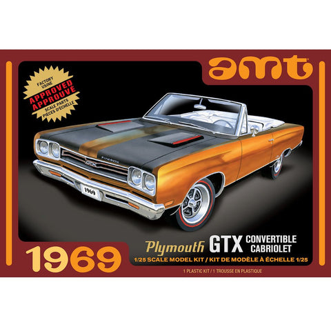 AMT 1/25 1969 Plymouth GTX Convertable 2T