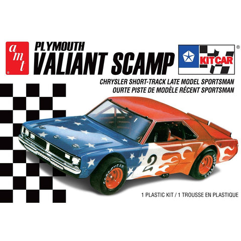AMT 1:25 Plymouth Valiant Scamp Kitcar Drag 2T Plastic Kit