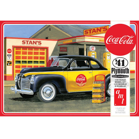 AMT 1:25 1941 Plymouth Coupe Coca Cola 2T Plastic Kit