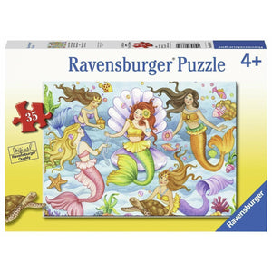 RAVENSBURGER Queens of the Ocean Puzzle 35pce
