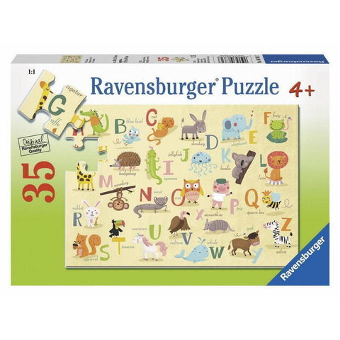 Rburg - A-Z Animals Puzzle 35pc