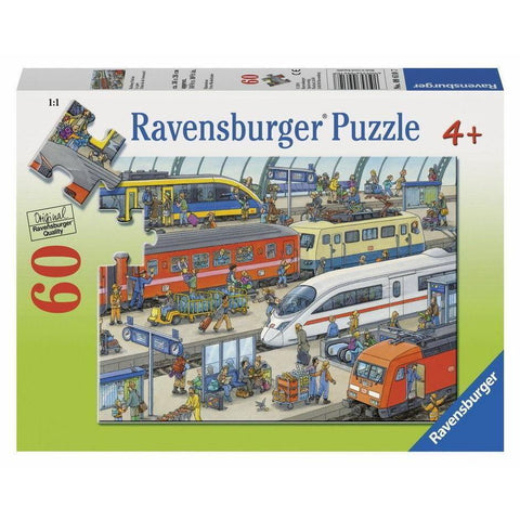 Rburg - Railway Station Puzzle 60pc