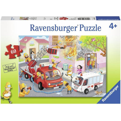 Rburg - Firefighter Rescue! Puzzle 60pc