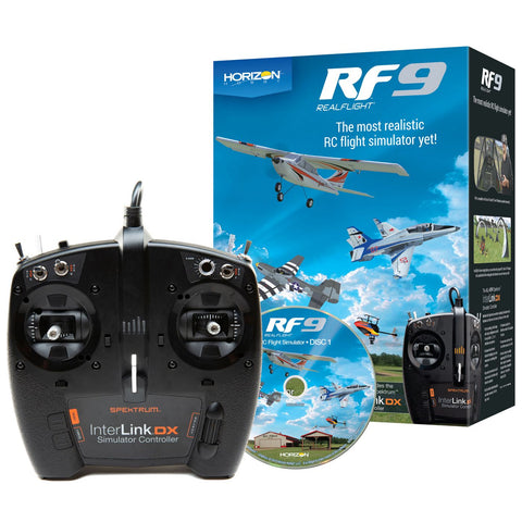 Real Flight RF9 Horizon Hobby Edition Flight Simulator w/In