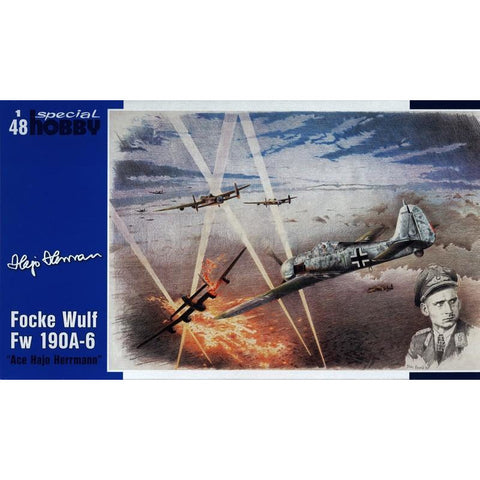 Image of SPECIAL HOBBY FW 190A-6 ACE Hajo Herrmann 1/48