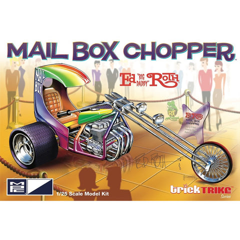 MPC 1/25 Ed Roth Mail Box Clipper (Trick Trike Series) Moto