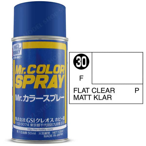 Image of MR HOBBY Mr Color Spray Flat Clear - S030