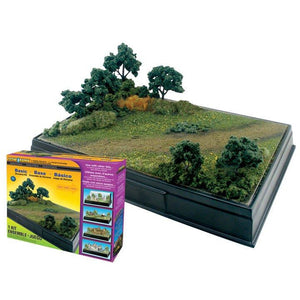 WOODLAND SCENICS Basic Diorama Kit