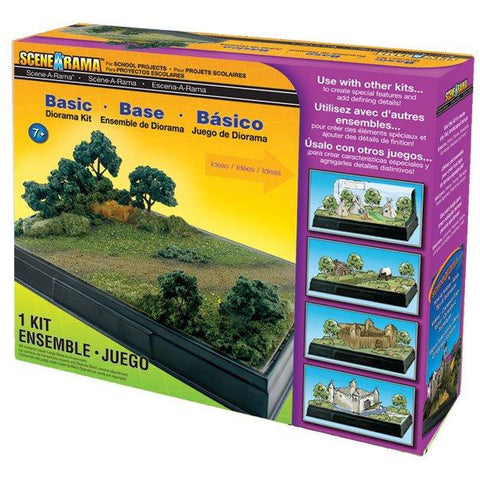 Image of WOODLAND SCENICS Basic Diorama Kit