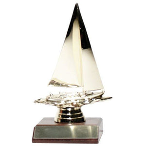 "WOODLAND SCENICS 4"" SailBoat Racer Special Award Trophy"