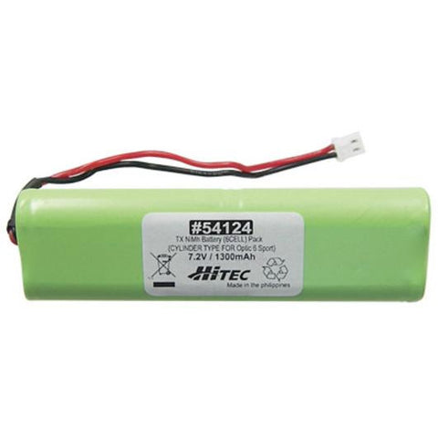 HITEC Transmitter NiMH Battery (6cell) Pack 7.2v 1300mAah (