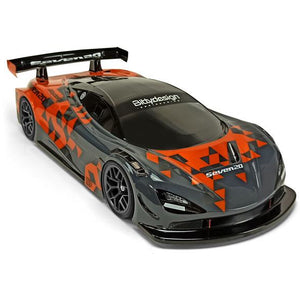 BITTYDESIGN Seven20 1/10 GT Clear Body Shell 190mm