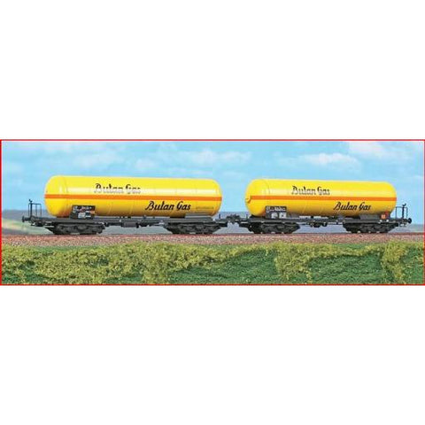 ACME HO 2pc Tank Wagon Set Zagkk, Butan Gas