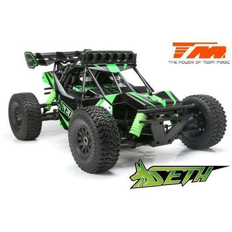 Image of SETH 1/8th Electric Desert Buggy Green