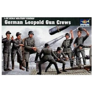 TRUMPETER 1/35 280MM K5 (E) LEOPOLD GERMAN RAILROAD GUN CRE