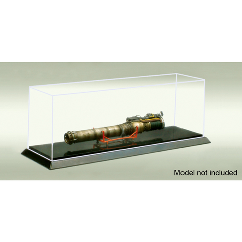 PLASTIC TRANSPARENT CASE 257X66X60MM
