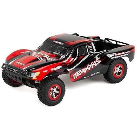 TRAXXAS 1/10 Slash RTR w/Radio - Red