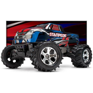 TRAXXAS STAMPEDE 4WD MONSTER TRUCK