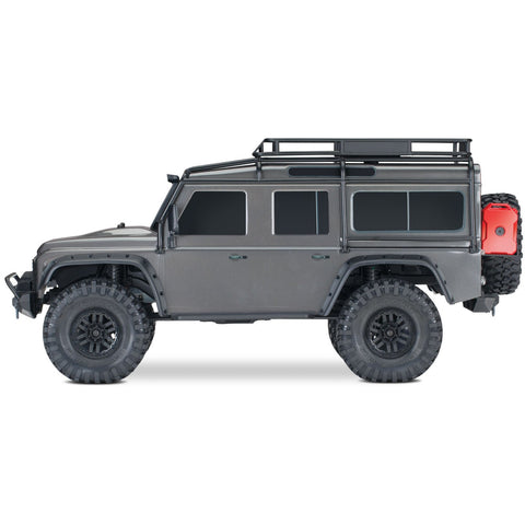 Image of TRAXXAS 1/10 TRX-4 Scale & Trail Crawler Land Rover - Silve