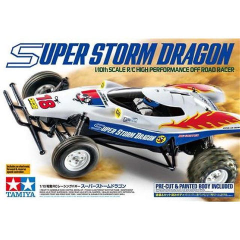 TAMIYA 1/10 Super Storm Dragon Off Road Racer 2WD RC Buggy