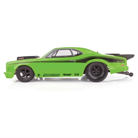 Image of Team Associated DR10 Drag Race Car RTR Green