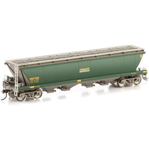 AUSCISION VHGF Grain Hopper Freight Australia 4 Car Pack (A