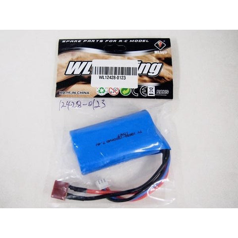 WL TOYS 7.4v 1500mAh Battery to Suit WL12428
