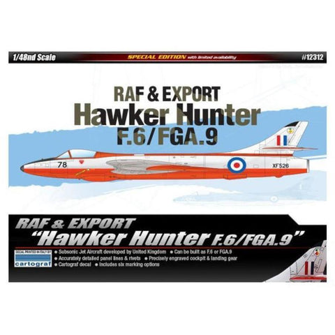 Academy 1/48 RAF & Export Hawker Hunter F.6/FGA.9