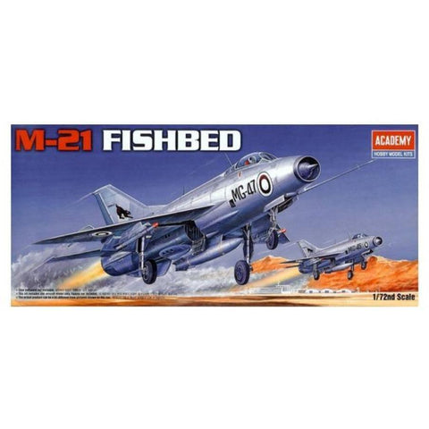 ACADEMY 1/72 M-21 Mikoyan Fishbed 1618