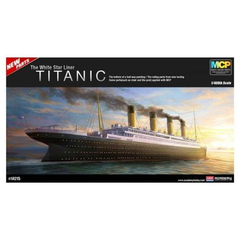 ACADEMY 1/400 RMS Titanic The White Star Line