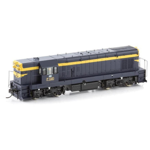 "AUSCISION T346 VR Blue & Gold with 9"" Gold Stripe & Cast St"