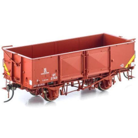 Image of AUSCISION HO - GY Wagon VR Wagon Red 6 Car Pack (ACM-VFW28)