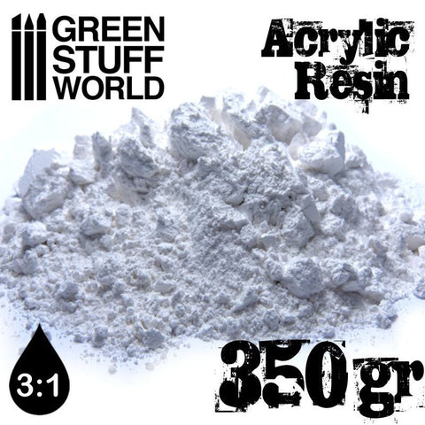GREEN STUFF WORLD Acrylic Resin Powder 350gm