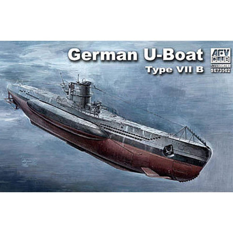AFV CLUB 1/350 German U-Boat Type VII/B