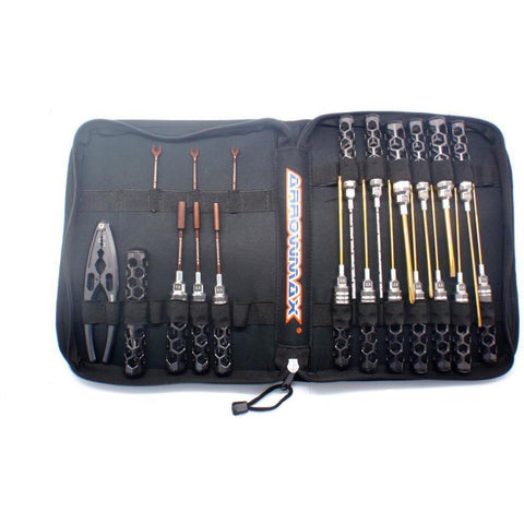 Image of ARROWMAX AM Honeycomb Toolset (21Pcs) With Tools bag (AM-19