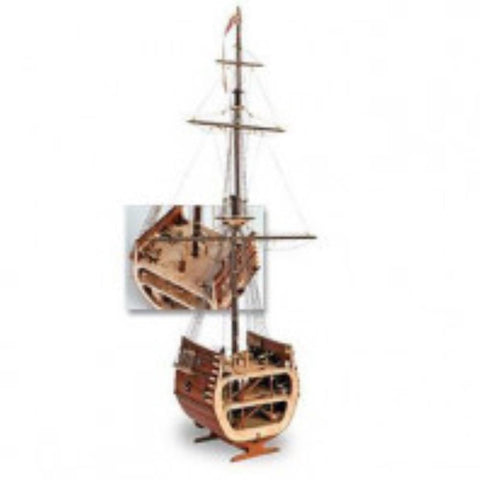 ARTESANIA 1/50 San Francisco Open Cross Section Wooden Ship