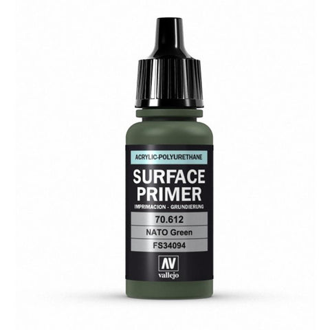 VALLEJO Surface Primer NATO Green 17ml (AV70612)