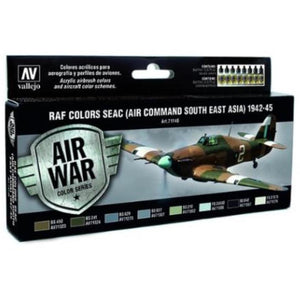 VALLEJO Model Air RAF & FAA SEAC (Air Command South East As