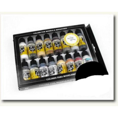 Vallejo Model Air Weathering Set 16 Colour Set (AV71194)