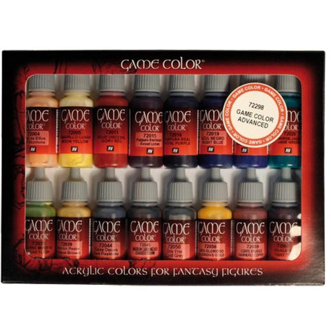 VALLEJO Game Colour Introduction 16 Colour set (AV72299)