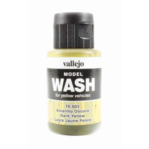 VALLEJO Model Wash Dark Yellow 35ml