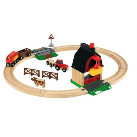 BRIO - Farm Railway Set 20 pieces