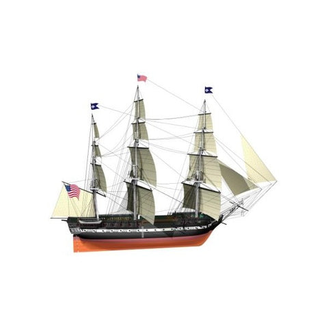 BILLING BOATS 1/100 USS Constitution