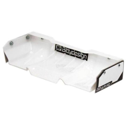 BITTYDESIGN Zefirus Clear Lexan wing for 1/8 buggy-truggy